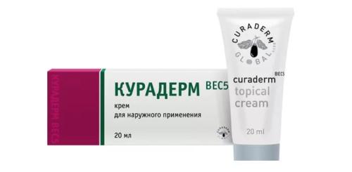 крем Курадерм от немеланомного рака кожи